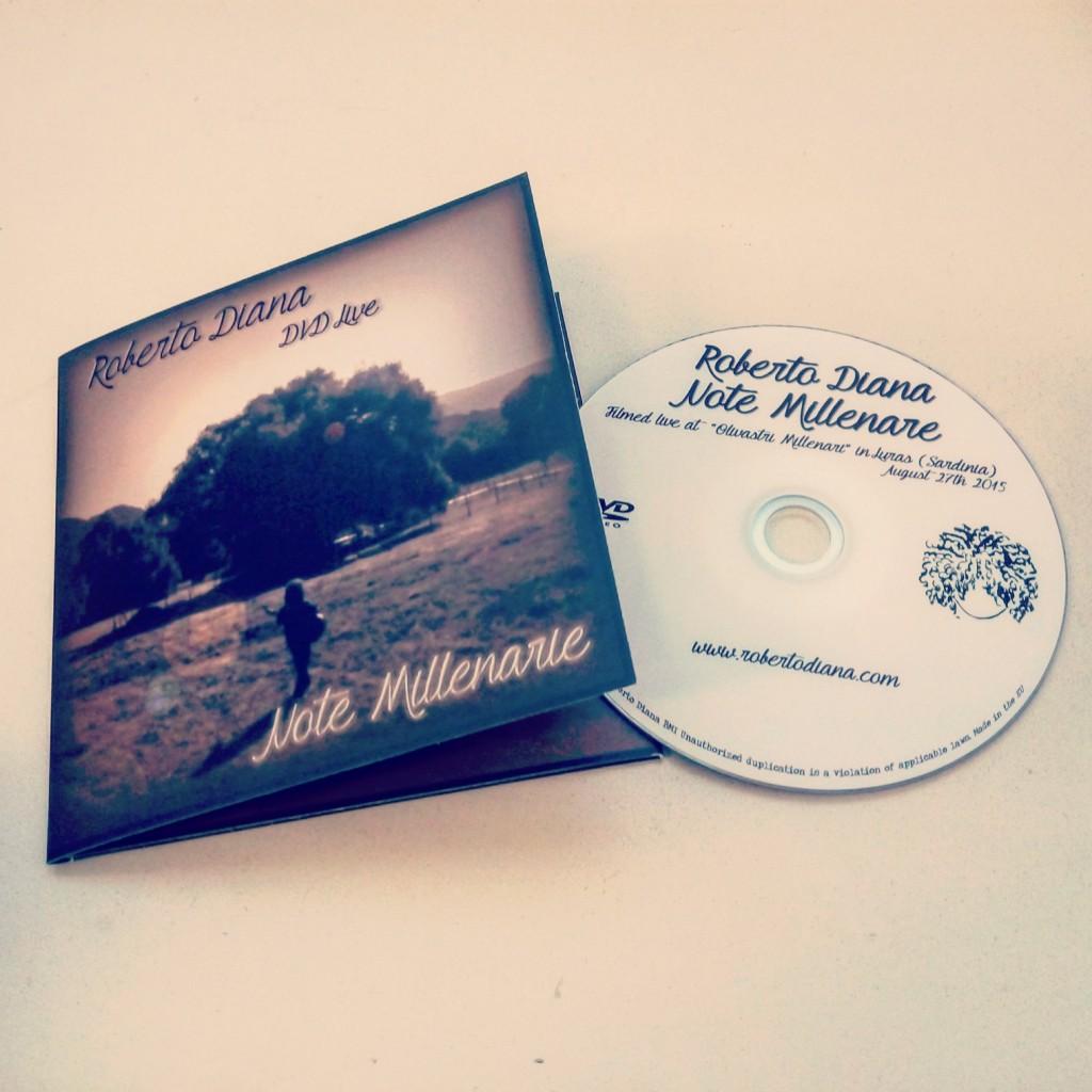 edit navigation bar DVD Note MIllenarie - Roberto Diana Live (Under a 4000yrs old Olivaster Tree in Luras)