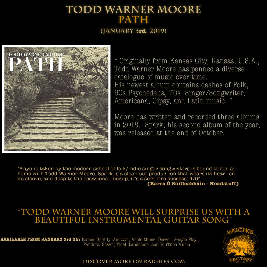 TODD WARNER MOORE - PATH released by Raighes Factory
