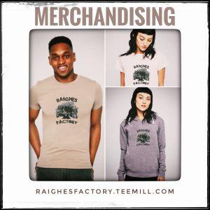 Raighes Factory Merchandising Shop (teemill)