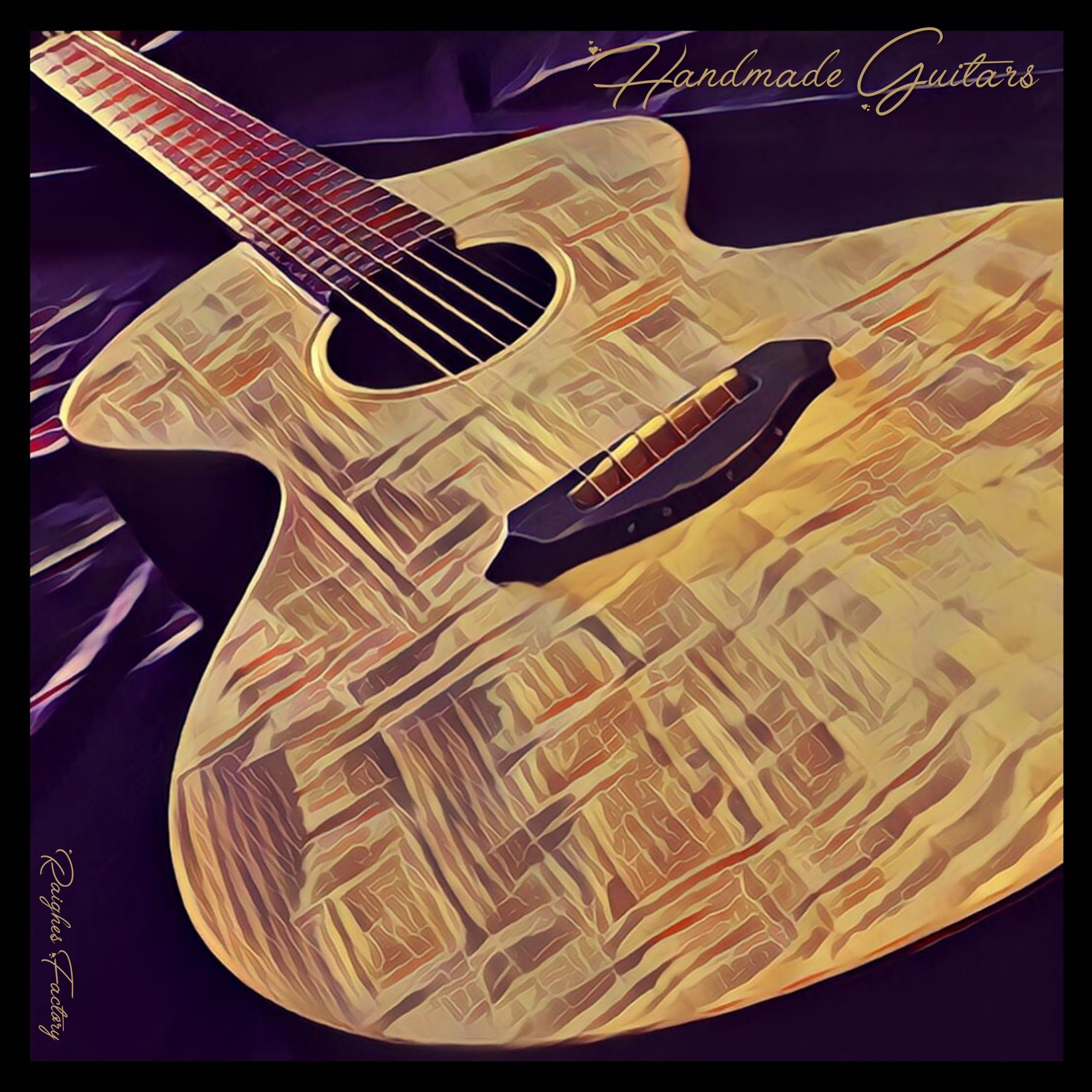 Handmade Guitars Compilation by Raighes Factory / MN Guitars