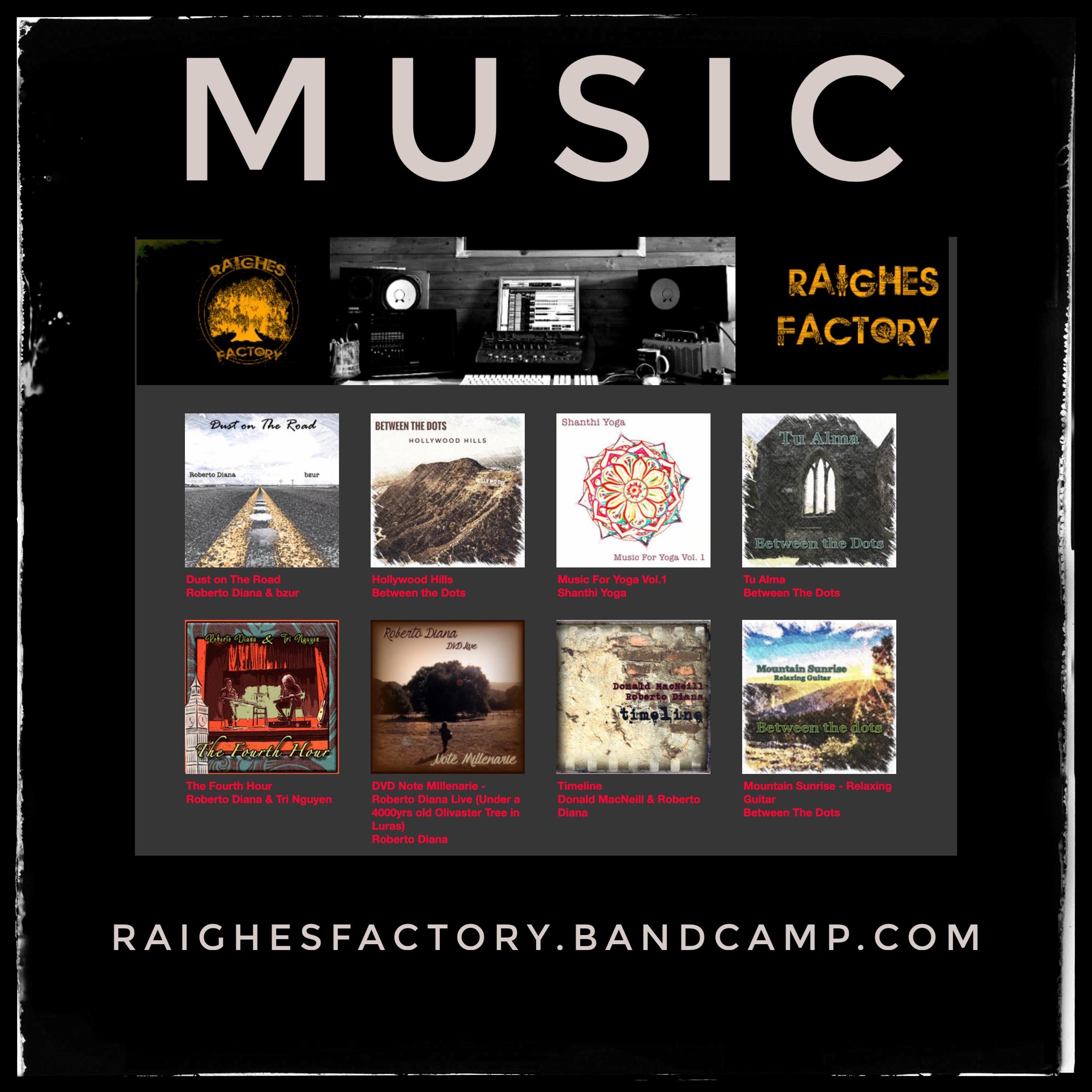 Raighes Factory Music Shop (bandcamp)